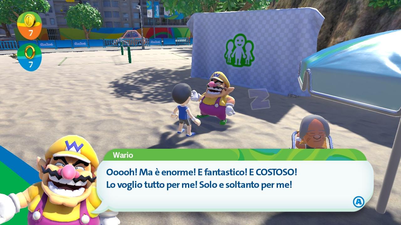 Al contrario della versione 3DS, i personaggi hanno la loro consueta personalità. Peccato che la modalità storia sia esclusiva 3DS.