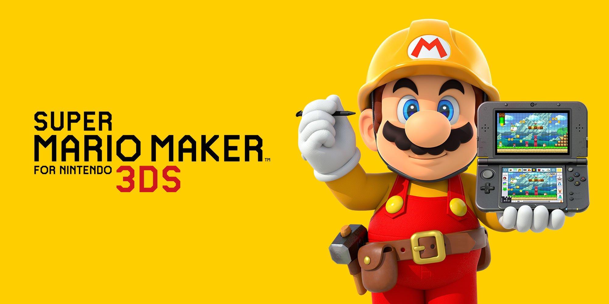 ... Super Mario Maker for Nintendo 3DS (2 dicembre) | Mario's Castle