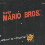 Copertina del manuale di Super Mario Bros.