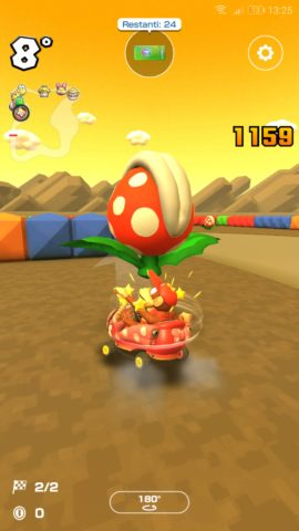 Mario Kart Tour - Le Piante Piranha nel Tour di Parigi.