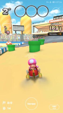 Mario Kart Tour - I tubi nel Tour invernale.