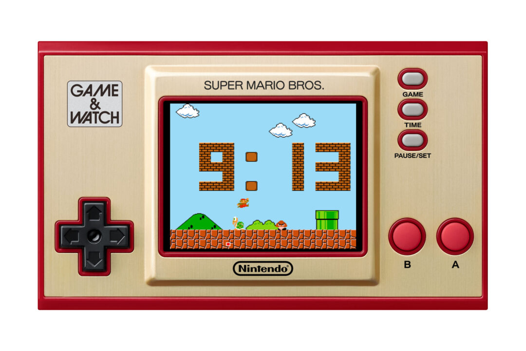 Orologio digitale di Game & Watch: Super Mario Bros.